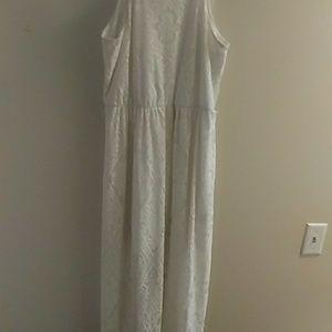 Dresses & Skirts - Large long white dress